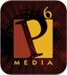 P6 Media Advertising & Marketing Agency Logo