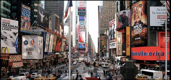 Sensory overload advertising blog image